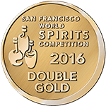 S.F World Spirits Double Gold